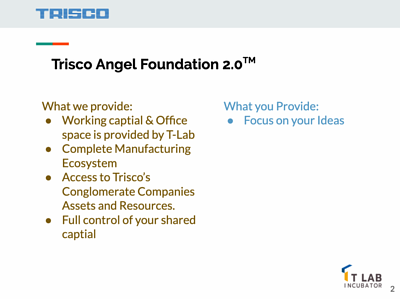 What differences between other Angel Foundation?