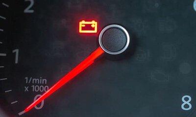 battery dashboard charging alert