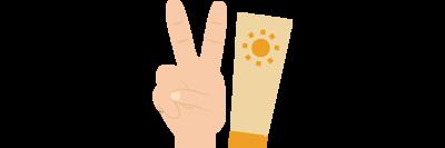 兩條手指_防曬乳霜