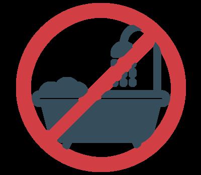 癌症治療,術後皮膚保養,避免,熱水澡