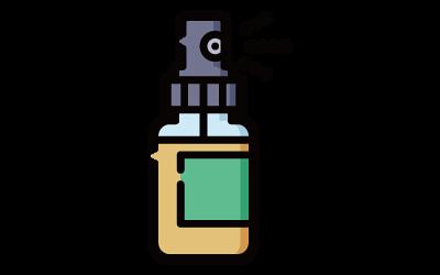 使用康護寧消炎噴劑