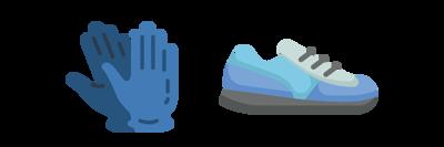 冷凍手套與鞋套