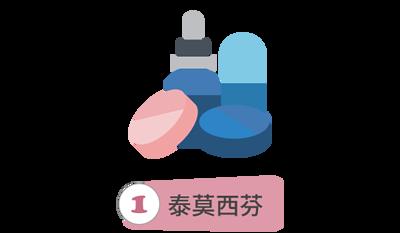 泰莫西芬(tamoxifen)