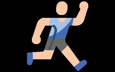 病人有辦法運動但目前本身運動量較低(每週運動時間小於90分鐘)