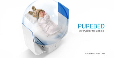PureBed Air Purifier for baby