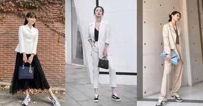 韓劇《奔向愛情》開始回歸的球鞋搭配也蔚為流行