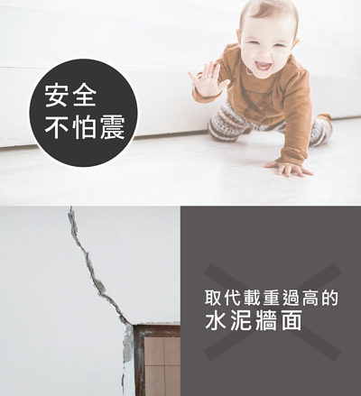 安全的牆壁