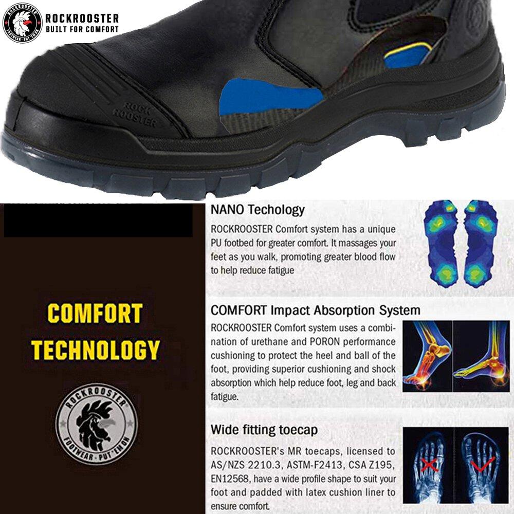 Composite/Soft/Steel Toe Waterproof
