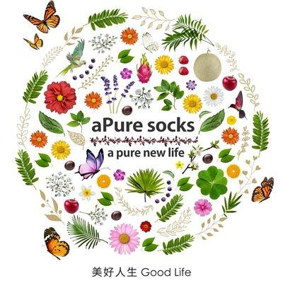 除腳臭除臭襪,還未換除臭襪先穿aPure除臭襪,有穿aPure socks a pure new life