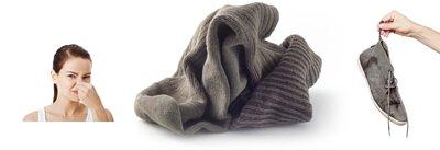 除腳臭除臭襪,汗水+細菌  為什麼會變成臭味呢?