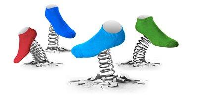 除腳臭除臭襪,舒適包覆有彈性,好像裝了氣墊