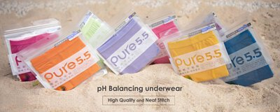 pH Balancing underwear High Quality and Neat Stitch