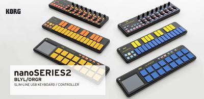 KORG,KORG nanoPAD2 ORGR MIDI控制器,KORG USB MIDI 控制介面,korg nanoPAD2 midi controller,Korg 最新二代 MIDI 控制器,