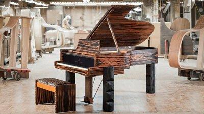 史坦威Steinway & Sons推出新的限量版平台鋼琴Kravitz Grand