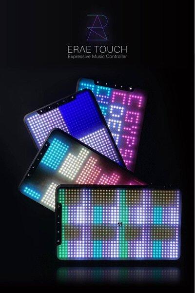 EMBODME公司發表新的Erae Touch和弦MIDI控制器