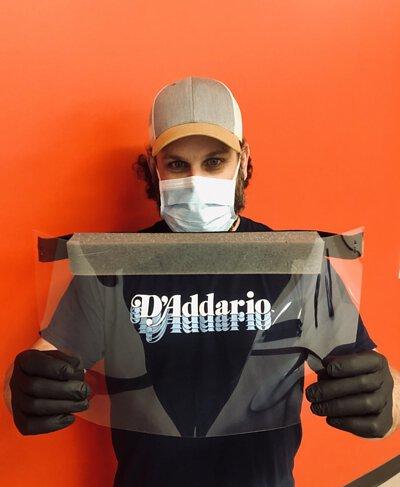 D'Addario獲得了擴展面罩製造的支持