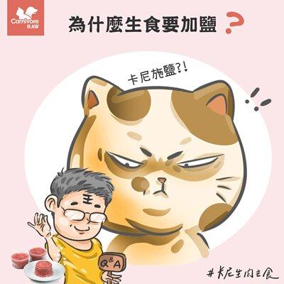 寵物營養:生肉餐為何加鹽 貓狗吃到鹽 貓狗能不能吃鹽