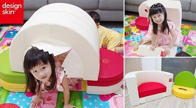 design skin圓形蛋糕沙發,兒童沙發,