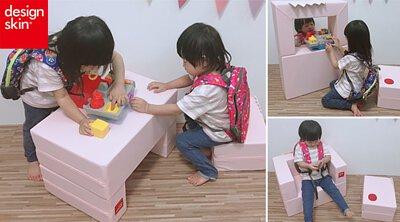 【韓國design skin】蛋糕沙發,兒童沙發