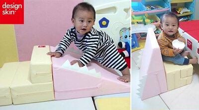 韓國design skin 寶寶溜滑梯沙發