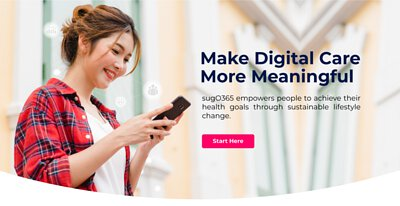 Meaningful Digital Diabetic Care, sugO365 empowers people to achieve their health goals through sustainable lifestyle change.