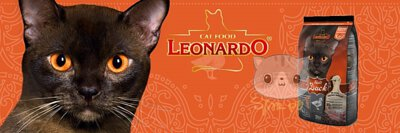 Leonardo貓糧