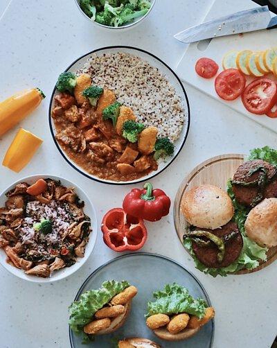 蔬味平生,全素,即食料理,素食料理包