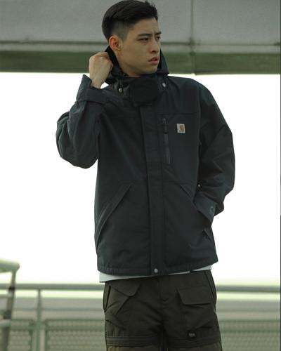 arhartt,carhartt Shoreline Jacket,carhartt 外套,carhartt工裝外套,carhartt 機能外套,carhartt 台灣, 外套  穿搭,穿搭 男,男生穿搭,機能外套  推薦,工裝,男友穿搭