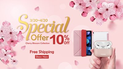 Cherry Blossom Collection 10% off and free shipping