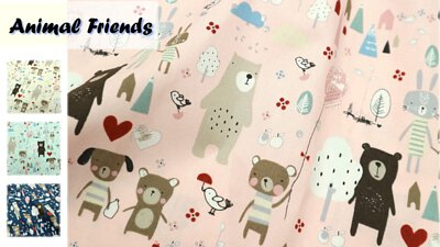 muslin taiwanfabric handmade madecraft rabbit bunny bear