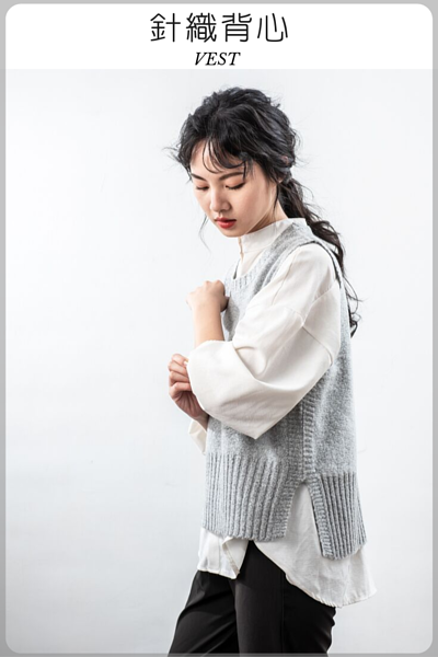 O-LIWAY台灣製針織背心穿搭首選
