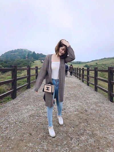 台灣製女裝品牌針織外套