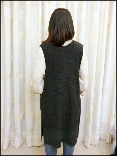 V領開襟針織背心-顯瘦穿搭
