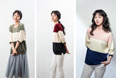 條文針織上衣-MIT女裝針織衫