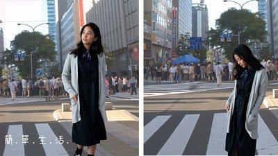 逛街購物時針織外套的穿搭提案