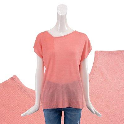 台灣製涼感針織上衣-粉色
