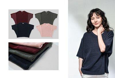 寬鬆版型針織衫-oversize design