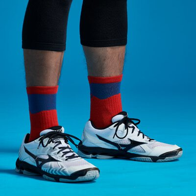 黑狗,運動襪,競技排球襪