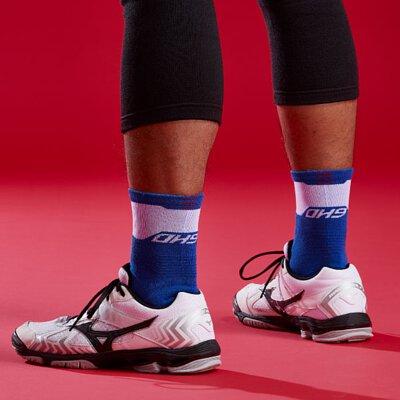 黑狗,運動襪,競技排球襪,排球襪