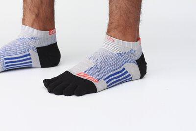 OH9競速減壓五趾跑襪