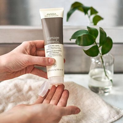aveda daily hair repair 修護精華
