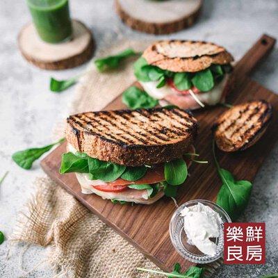 芝麻菜三明治