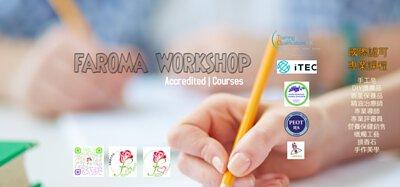 Faroma Workshop, 課程, 國際認可