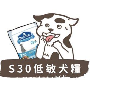 S30低敏犬糧商品分類按鈕