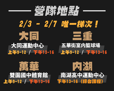 台北兒童籃球冬令營,維度運動,籃球營隊,2020冬令營,寒假營隊
