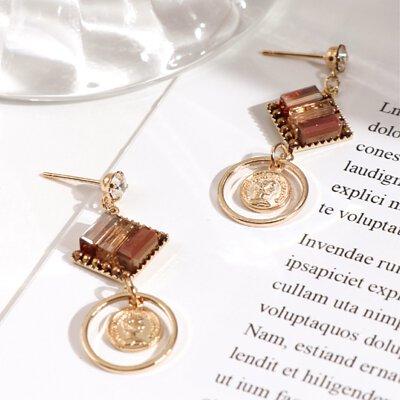 繽紛硬幣耳環