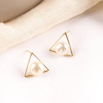 耳環, 珠光密境耳環