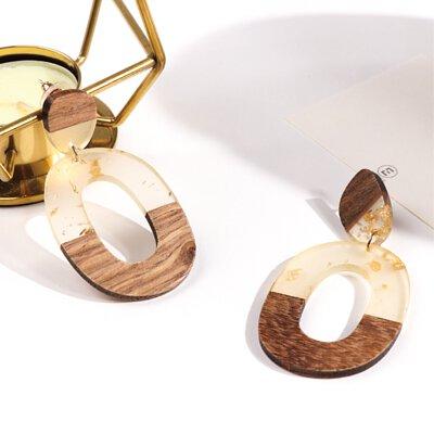 耳環, 韓國耳環, 木刻記憶耳環