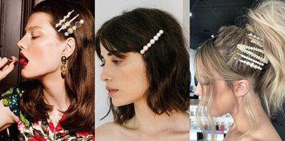 珍珠髮夾, 珍珠髮飾