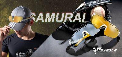 Samurai系列 雷射雕刻 鏡片氣孔 運動風鏡